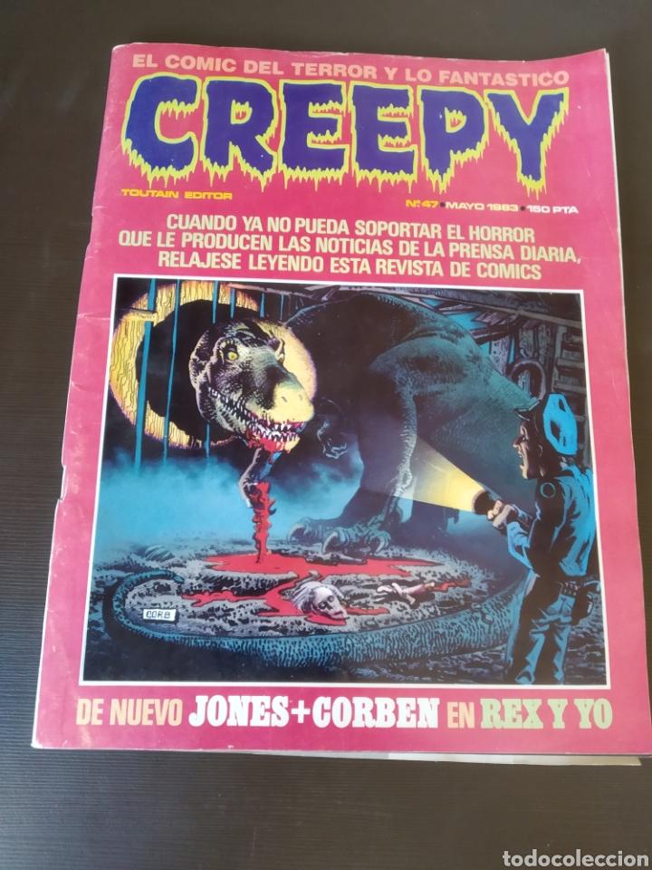 REVISTA CREEPY NÚMERO 43 (Tebeos y Comics - Toutain - Creepy)