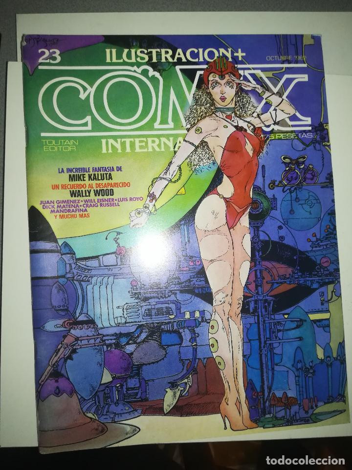 COMIX INTERNATIONAL #23 (Tebeos y Comics - Toutain - Comix Internacional)