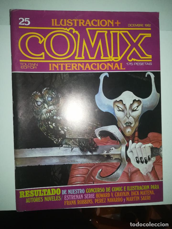 COMIX INTERNATIONAL #25 (Tebeos y Comics - Toutain - Comix Internacional)