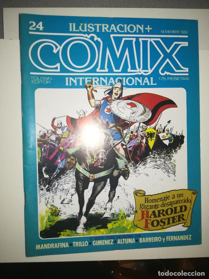 COMIX INTERNATIONAL #24 (Tebeos y Comics - Toutain - Comix Internacional)
