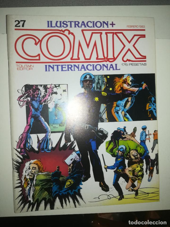 COMIX INTERNATIONAL #27 (Tebeos y Comics - Toutain - Comix Internacional)