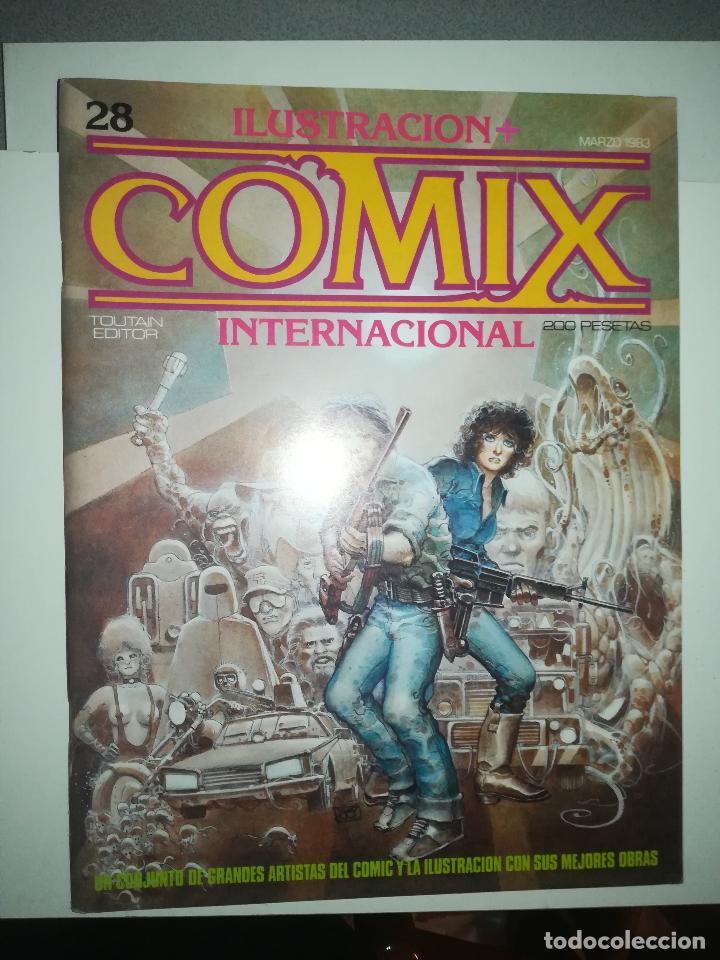 COMIX INTERNATIONAL #28 (Tebeos y Comics - Toutain - Comix Internacional)