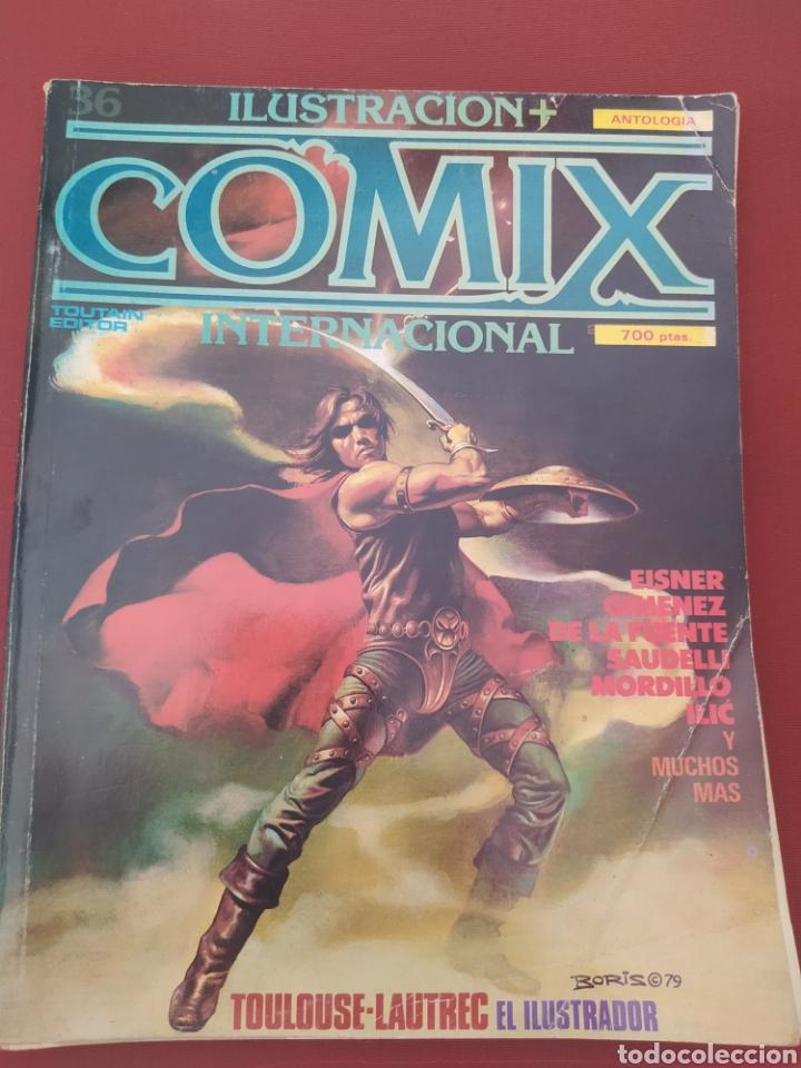 RETAPADO ILUSTRACIÓN+COMIX Nº 32-36-40 (Tebeos y Comics - Toutain - Comix Internacional)