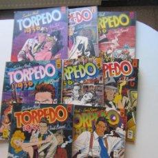 Fumetti: TORPEDO 1936 - COMPLETA EN 8 TOMOS - DEL Nº 0 AL Nº 7 TOUTAIN EDITOR CX63. Lote 213862585