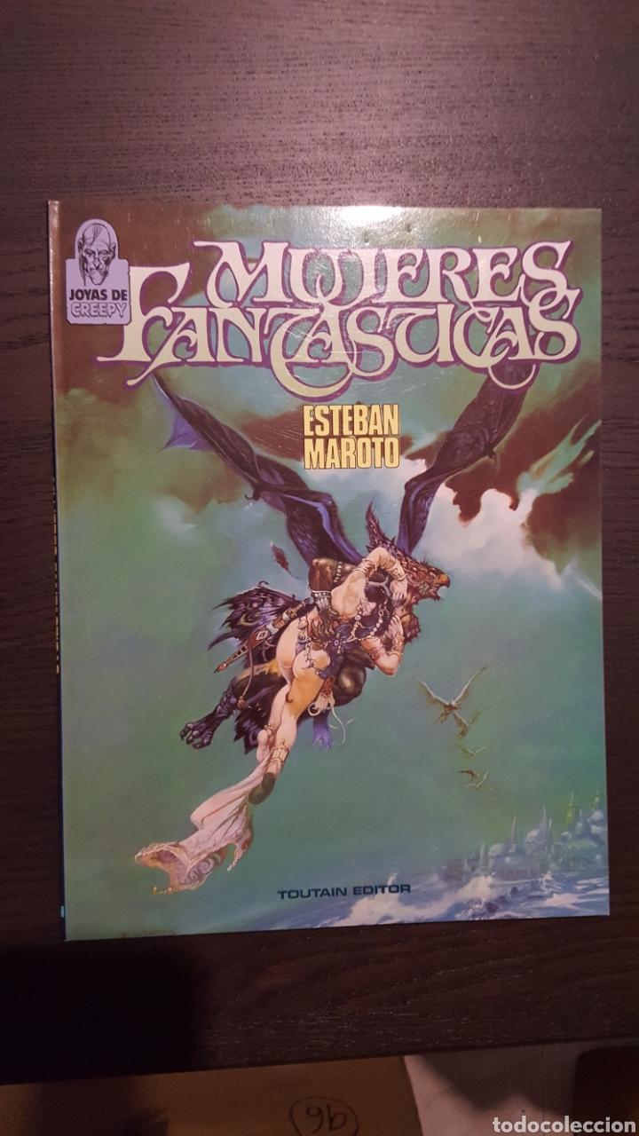 Cómics: Lote Esteban Maroto - Korsar, Mujeres fantasticas, En el nombre del diablo - Toutain Editor - Riego - Foto 5 - 213910026