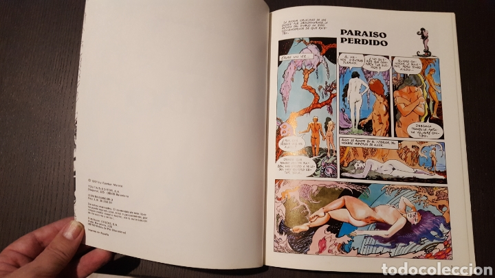 Cómics: Lote Esteban Maroto - Korsar, Mujeres fantasticas, En el nombre del diablo - Toutain Editor - Riego - Foto 10 - 213910026
