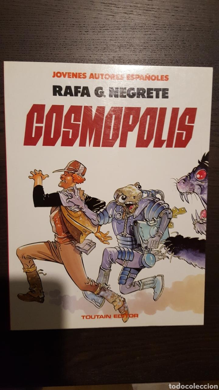 Cómics: Lote Jóvenes autores españoles - Toutain - Alfredo Genies, Rafa Negrete, Saladrigas - Foto 5 - 213912221