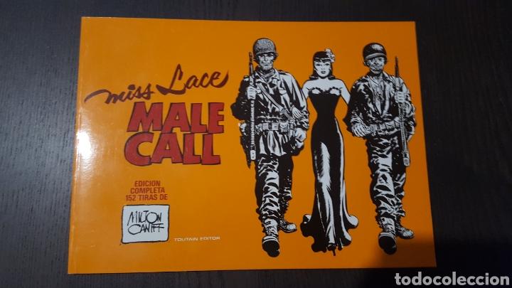 COMIC - MISS LACE - MALE CALL - MILTON CANIFF - TOUTAIN - INTEGRAL. TIRAS SEMANALES - 1982 (Tebeos y Comics - Toutain - Álbumes)