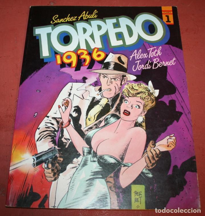 TORPEDO 1936 - ABULI/BERNET/TOTH - TOMO 1 - 1984 (Tebeos y Comics - Toutain - Álbumes)