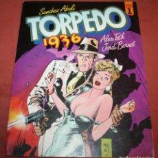 Cómics: TORPEDO 1936 - ABULI/BERNET/TOTH - TOMO 1 - 1984. Lote 214152820
