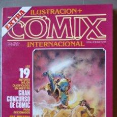 Cómics: ILUSTRACIÓN + COMIX INTERNACIONAL, EXTRA CONCURSO 1983 - TOUTAIN EDITOR. Lote 214210871