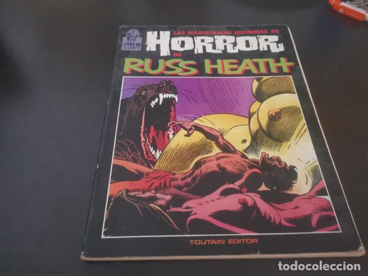 LAS MAGISTRALES HISTORIAS DE HORROR DE RUSS HEATH 1987 POSIBLE RECOGIDA EN MALLORCA (Tebeos y Comics - Toutain - Creepy)