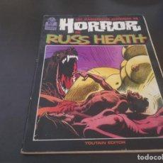 Cómics: LAS MAGISTRALES HISTORIAS DE HORROR DE RUSS HEATH 1987 POSIBLE RECOGIDA EN MALLORCA. Lote 214214161