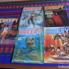 Fumetti: CREEPY 2ª ÉPOCA NºS 23 24 31 32. 95 PTS. TOTAIN EDITOR 1981. REGALO Nº 8 1ª ÉPOCA 70 PTS. 1979.. Lote 214727361