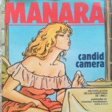 Cómics: EL PERFUME INVISIBLE MILO MANARA. Lote 214756525