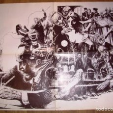 Comics : PÓSTER AURALEÓN ( PUBLICADO EN CREEPY). - TOUTAIN EDITOR, [CA. 1980]. Lote 215670622