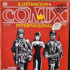 Cómics: ILUSTRACION + COMIX INTERNACIONAL Nº 10. Lote 215879857