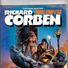 Cómics: RICHARD CORBEN. OBRAS COMPLETAS. Nº 10. PILGOR (BODYSSEY). AÑO 1990. TOUTAIN EDITOR. Lote 215964248