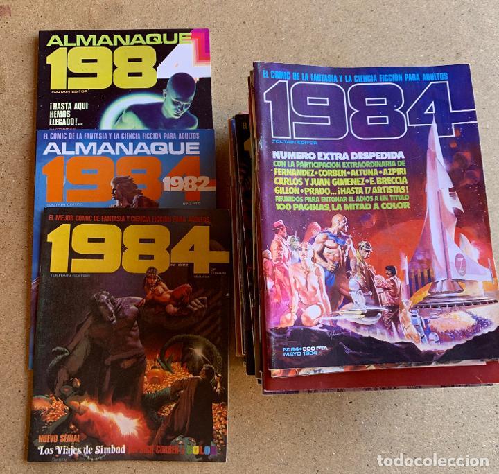 COMIC 1984 .TOUTAIN EDITOR . 38 NUMEROS . (Tebeos y Comics - Toutain - 1984)