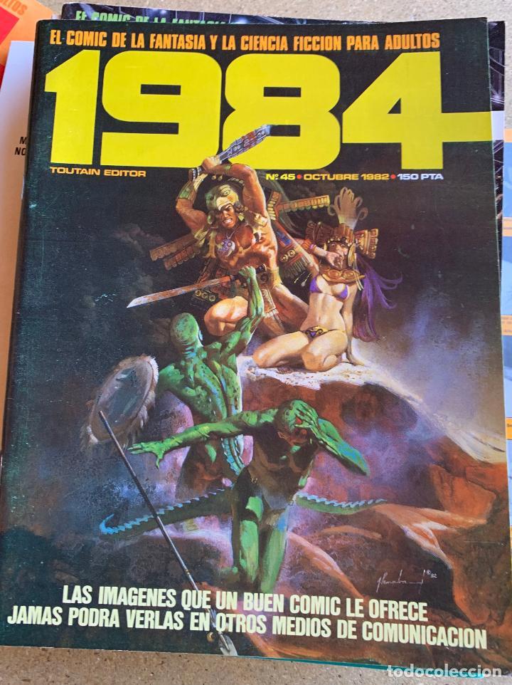 Cómics: COMIC 1984 .TOUTAIN EDITOR . 38 NUMEROS . - Foto 3 - 216384235