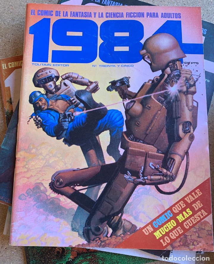Cómics: COMIC 1984 .TOUTAIN EDITOR . 38 NUMEROS . - Foto 4 - 216384235