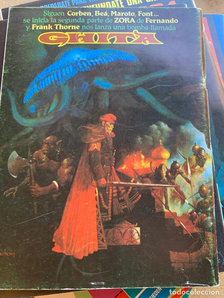 Cómics: COMIC 1984 .TOUTAIN EDITOR . 38 NUMEROS . - Foto 6 - 216384235