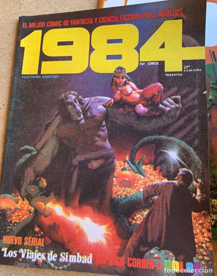 Cómics: COMIC 1984 .TOUTAIN EDITOR . 38 NUMEROS . - Foto 7 - 216384235