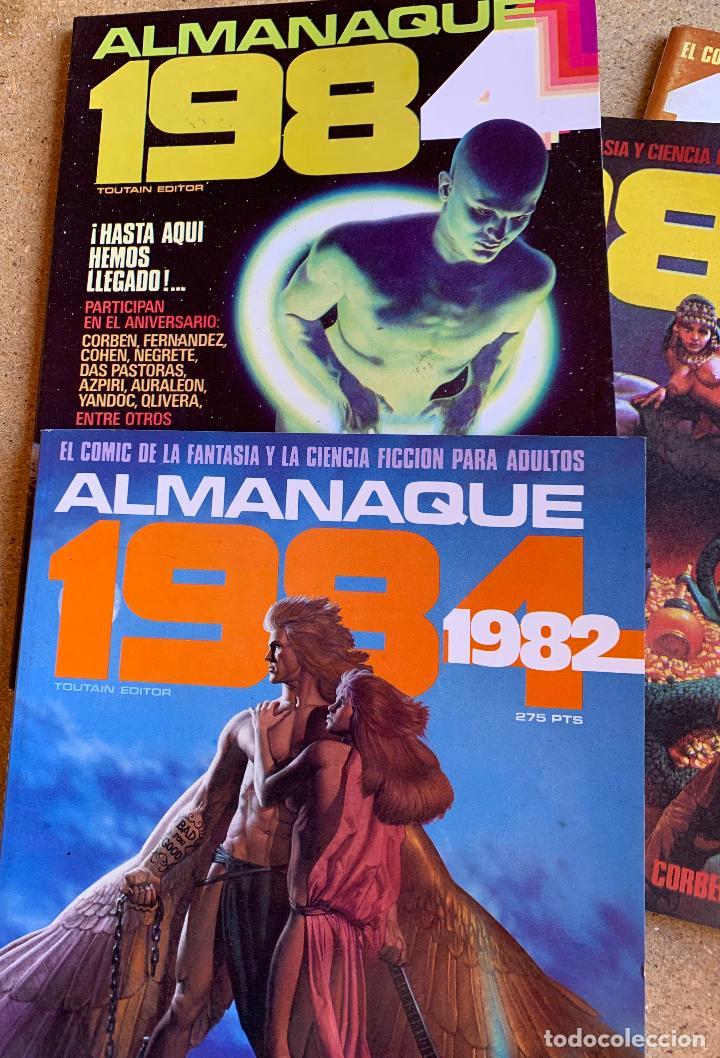 Cómics: COMIC 1984 .TOUTAIN EDITOR . 38 NUMEROS . - Foto 8 - 216384235