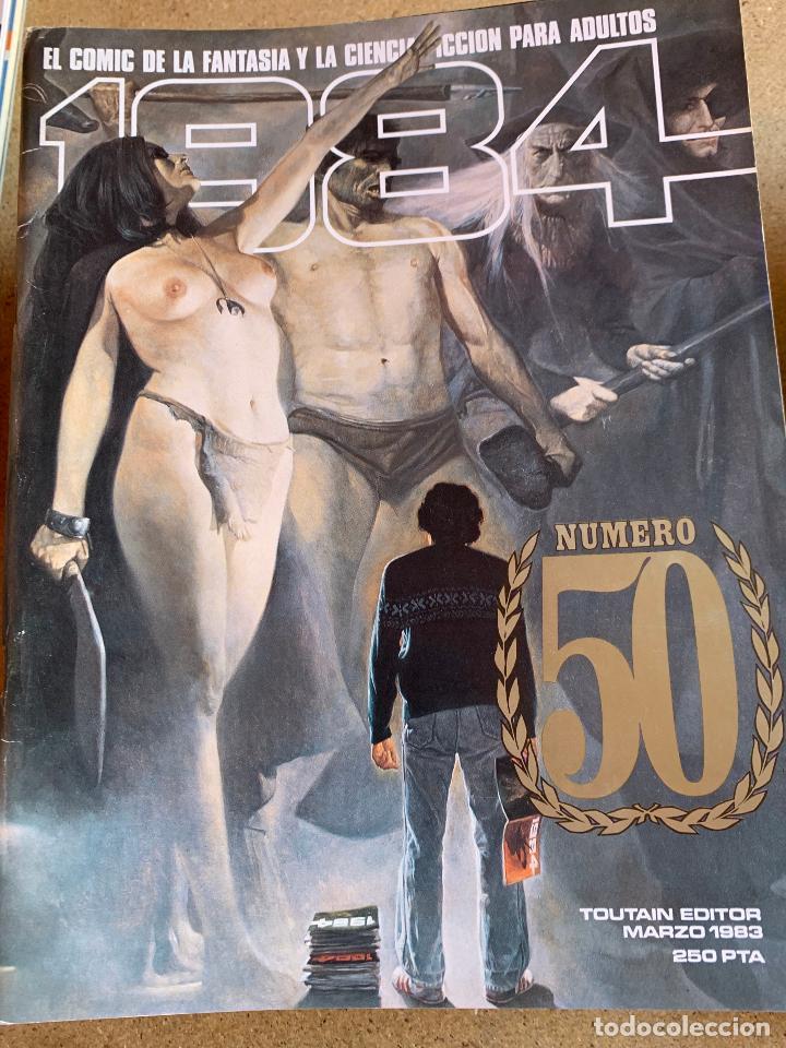 Cómics: COMIC 1984 .TOUTAIN EDITOR . 38 NUMEROS . - Foto 10 - 216384235