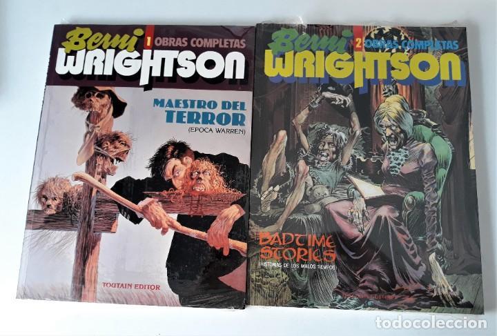 BERNI WRIGHTSON: OBRAS COMPLETAS ( 2 VOLS.) TOUTAIN (Tebeos y Comics - Toutain - Álbumes)