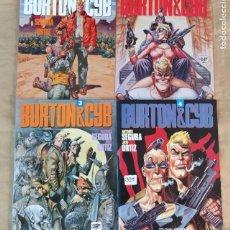 Fumetti: BURTON & CYB - TOUTAIN / COLECCIÓN COMPLETA (4 ÁLBUMES). Lote 216560677