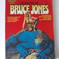 Comics : LO MEJOR DE BRUCE JONES. Lote 216653557