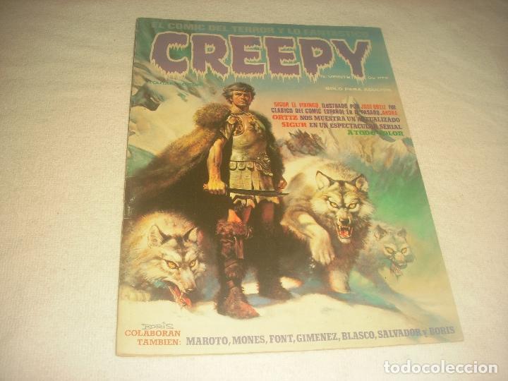 CREEPY N. 20 . SIGUR EL VIKINGO (Tebeos y Comics - Toutain - Creepy)