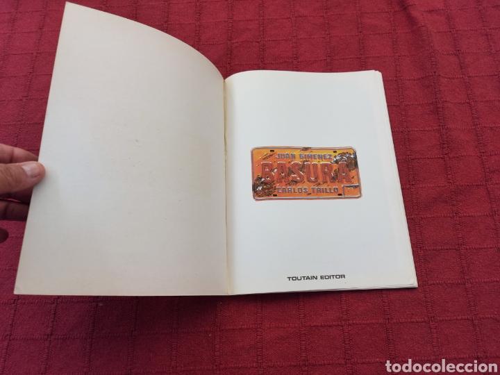 Cómics: BASURA- JUAN GIMENEZ -CARLOS TRILLO- TOUTAIN EDITOR ,COMIC DE CIENCIA FICCIÓN - Foto 7 - 216860463