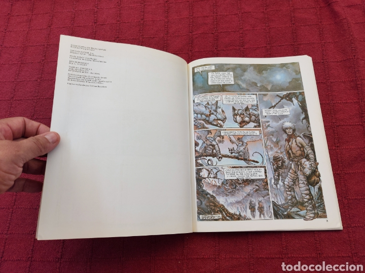 Cómics: BASURA- JUAN GIMENEZ -CARLOS TRILLO- TOUTAIN EDITOR ,COMIC DE CIENCIA FICCIÓN - Foto 8 - 216860463