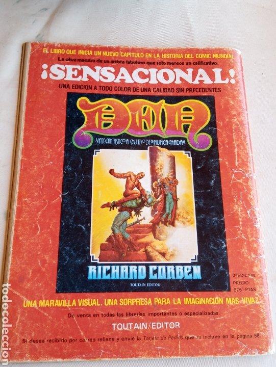 Cómics: **ESPECIAL, CREEPY CON EL RETORNO DE VAMPIRELLA (N°35 AÑOS 80)** - Foto 2 - 217004935