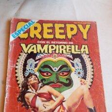 Cómics: **ESPECIAL, CREEPY CON EL RETORNO DE VAMPIRELLA (N°35 AÑOS 80)**. Lote 217004935