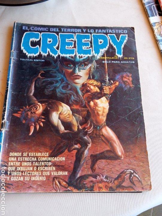 **CÒMIC, -- CREEPY--- NÚMERO 29 SOLO PARA ADULTOS** (Tebeos y Comics - Toutain - Creepy)