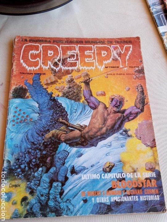 **CÒMIC, --- CREEPY -- NÚMERO 13 SOLO PARA ADULTOS** (Tebeos y Comics - Toutain - Creepy)