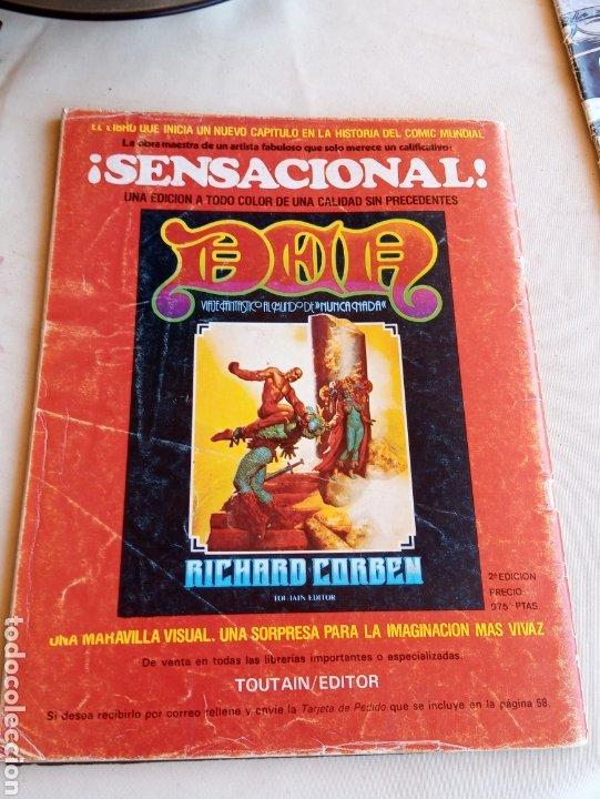 Cómics: **ESPECIAL CREEPY CON EL RETORNO DE VAMPIRELLA. NÚMERO 35** - Foto 2 - 217013906