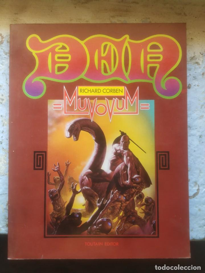 DEN - MUVOVUM - RICHARD CORBEN - - TOUTAIN - (Tebeos y Comics - Toutain - Álbumes)