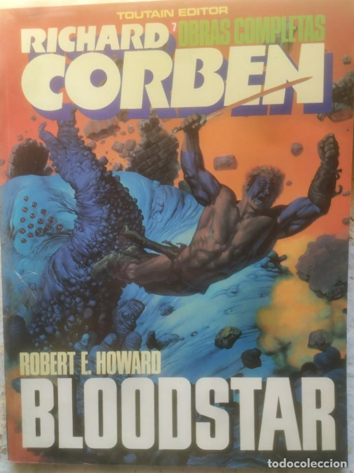 RICHARD CORBEN BLOODSTAR OBRAS COMPLETAS 7 (Tebeos y Comics - Toutain - Álbumes)