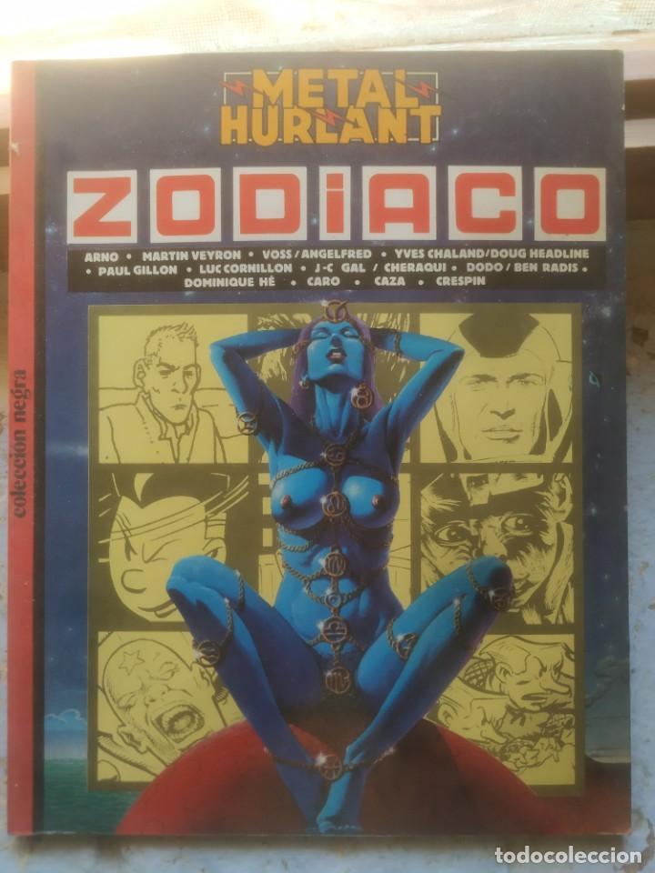 METAL HURLANT COLECCION NEGRA Nº 19 ZODIACO 1984 (Tebeos y Comics - Toutain - 1984)