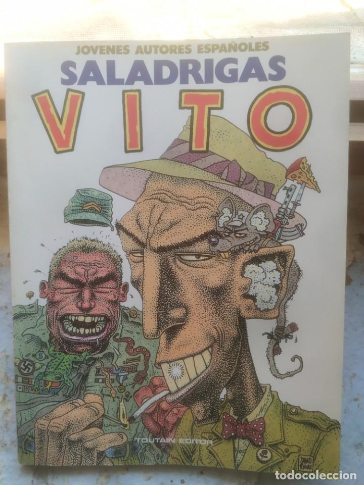 VITO. . SALADRIGAS. ED. TOUTAIN. 96 PAG. JOVENES AUTORES ESPAÑOLES. (Tebeos y Comics - Toutain - Otros)
