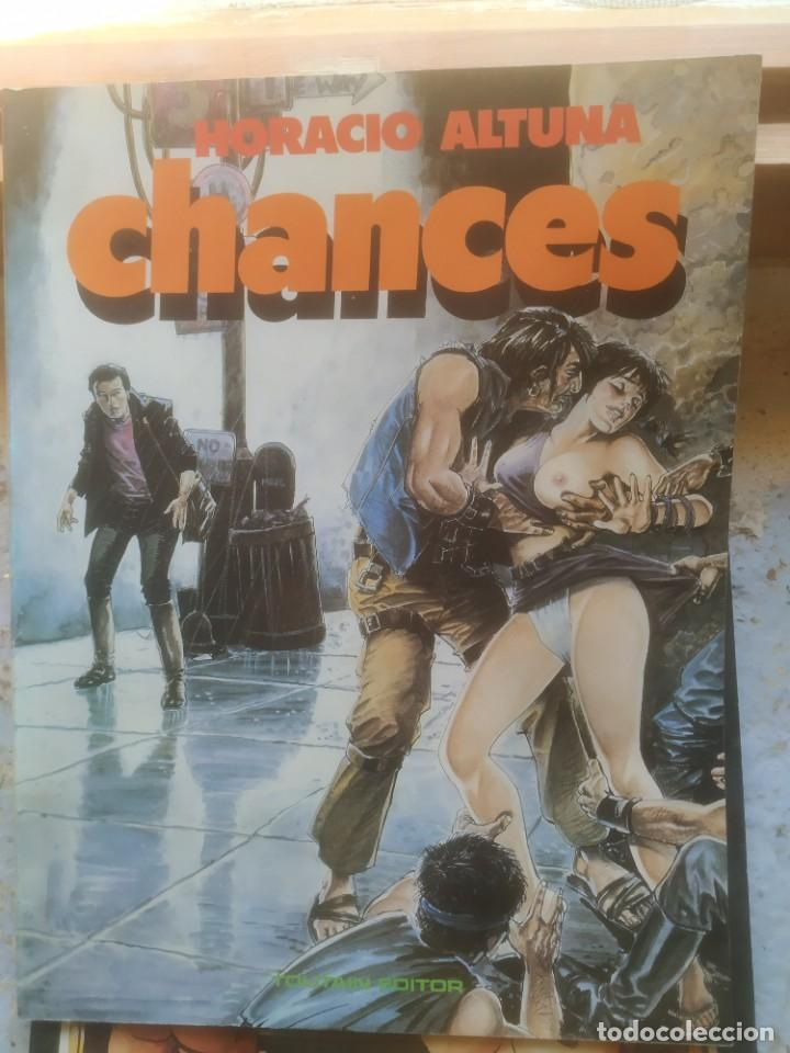 ALBUMES TOUTAIN. CHANCES. HORACIO ALTUNA. (Tebeos y Comics - Toutain - Otros)