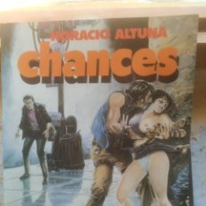 Cómics: ALBUMES TOUTAIN. CHANCES. HORACIO ALTUNA.. Lote 217112655