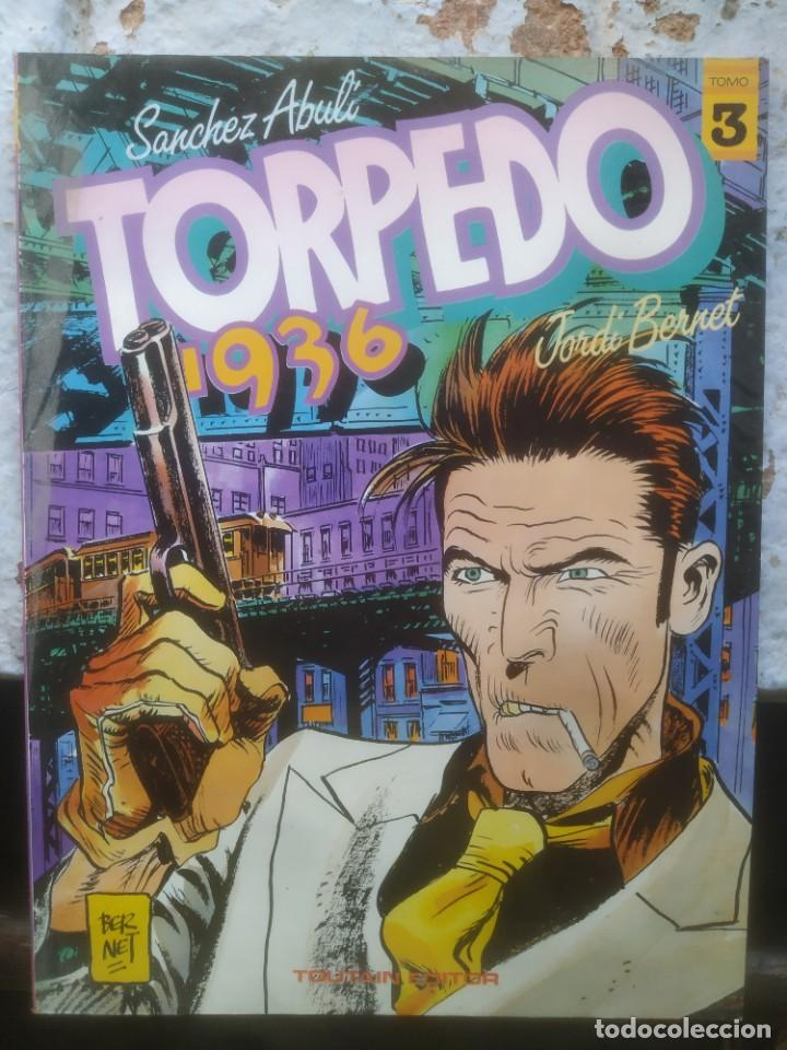 TORPEDO 1936 - JORDI BERNET - Nº3 - TOUTAIN EDITOR (Tebeos y Comics - Toutain - Otros)