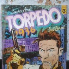 Cómics: TORPEDO 1936 - JORDI BERNET - Nº3 - TOUTAIN EDITOR. Lote 217137441