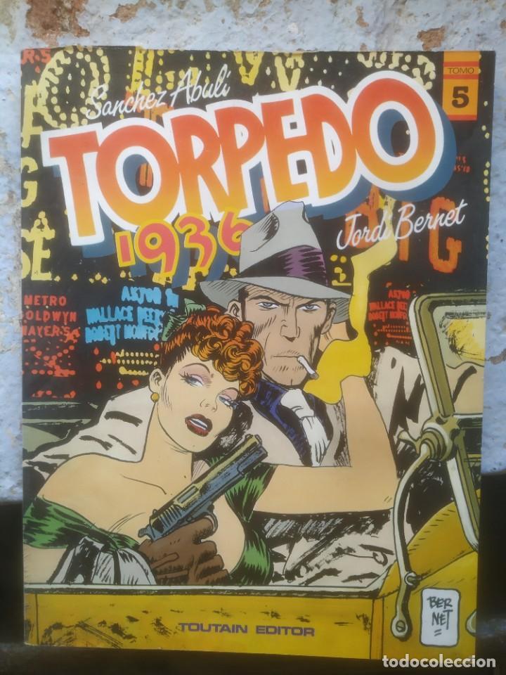 TORPEDO 1936 - JORDI BERNET - Nº5 - TOUTAIN EDITOR (Tebeos y Comics - Toutain - Otros)