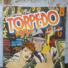 Cómics: TORPEDO 1936 - JORDI BERNET - Nº5 - TOUTAIN EDITOR. Lote 217137520